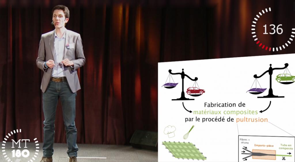 Ma thèse en 180 secondes 2015 – Arthur BABEAU en finale régionale