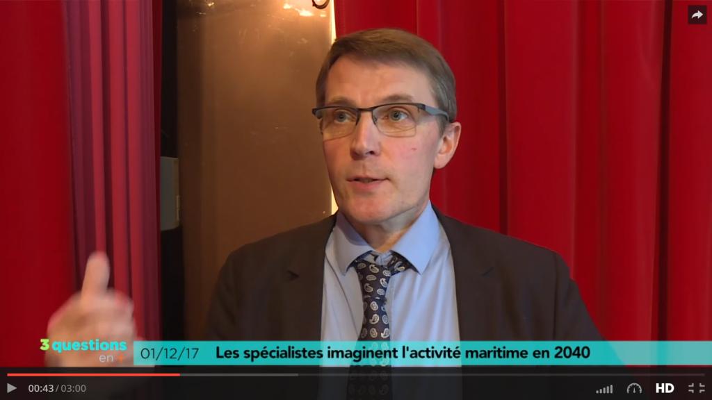 Télénantes – Les spécialistes imaginent l'activité maritime en 2040